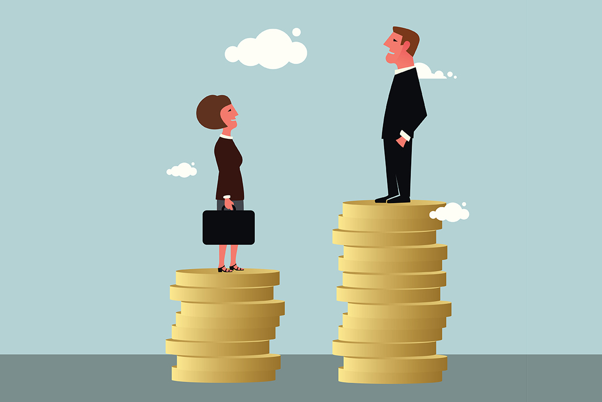 Gender pay gap 'narrows to record low', datasuggests