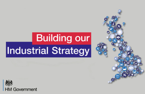 Government unveils new Industrial Strategy whitepaper