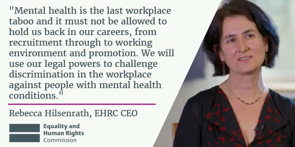 Mental health 'remains a taboo subject in the workplace', researchsuggests