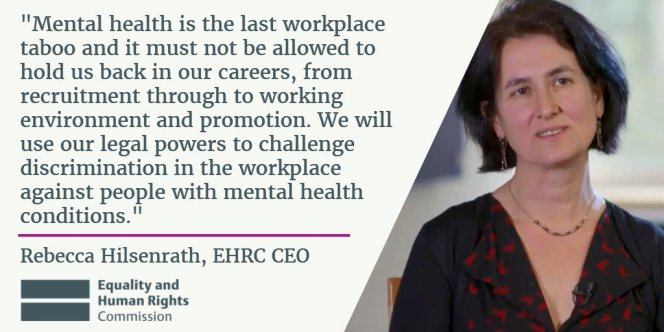Mental health 'remains a taboo subject in the workplace', research suggests