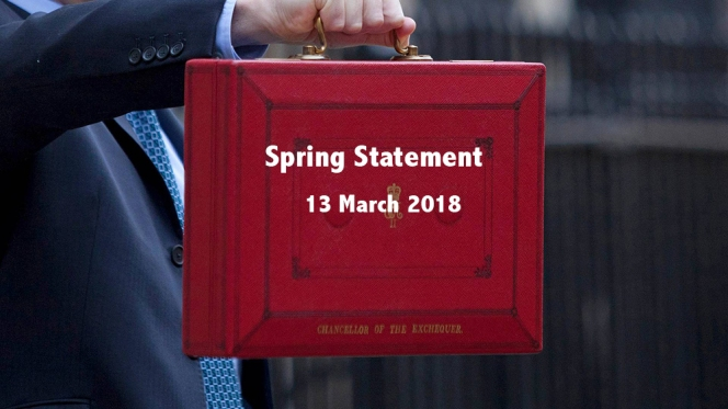 View our 2018 Spring Statement summary