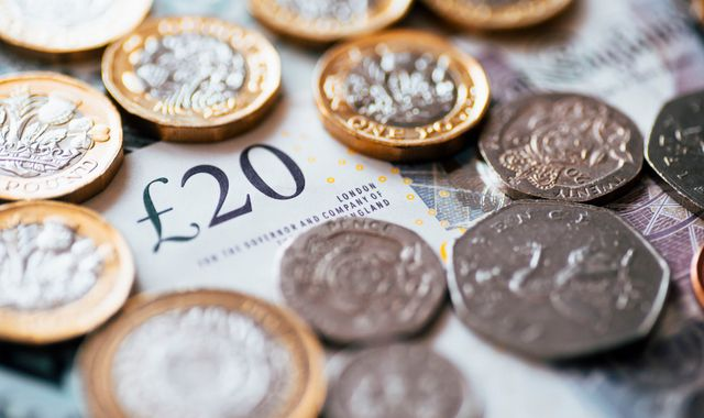 Wage growth rate overtakes inflation for 'first time in a year', official figures reveal